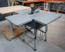 Fox F36-52C table saw, 240V