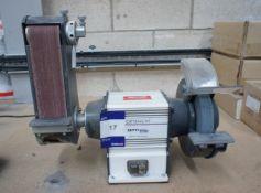 Optimum GU20S bench / belt grinder (Purchaser to remove)
