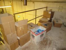 Qty of Food Packaging on Mezzanine Floor