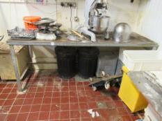 Heavy Duty Steel Workbench