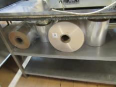 Qty of Rolls of Film for L-Bar Sealers