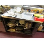 Moffat Heated Cabinet (out of use) with contents