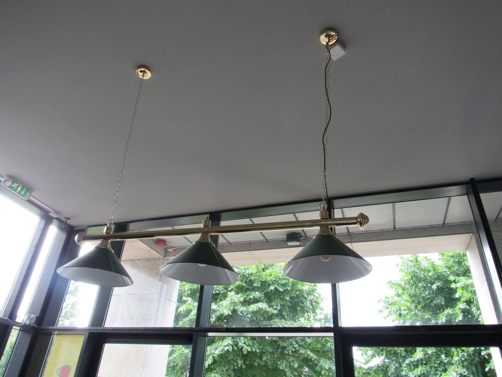 Pool Table Lighting Bar