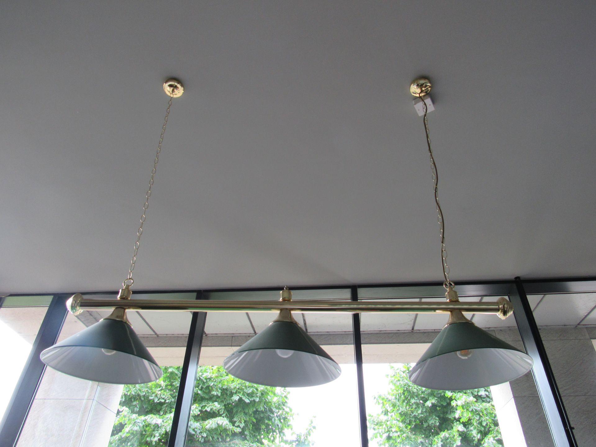 Pool Table Lighting Bar - Image 2 of 2