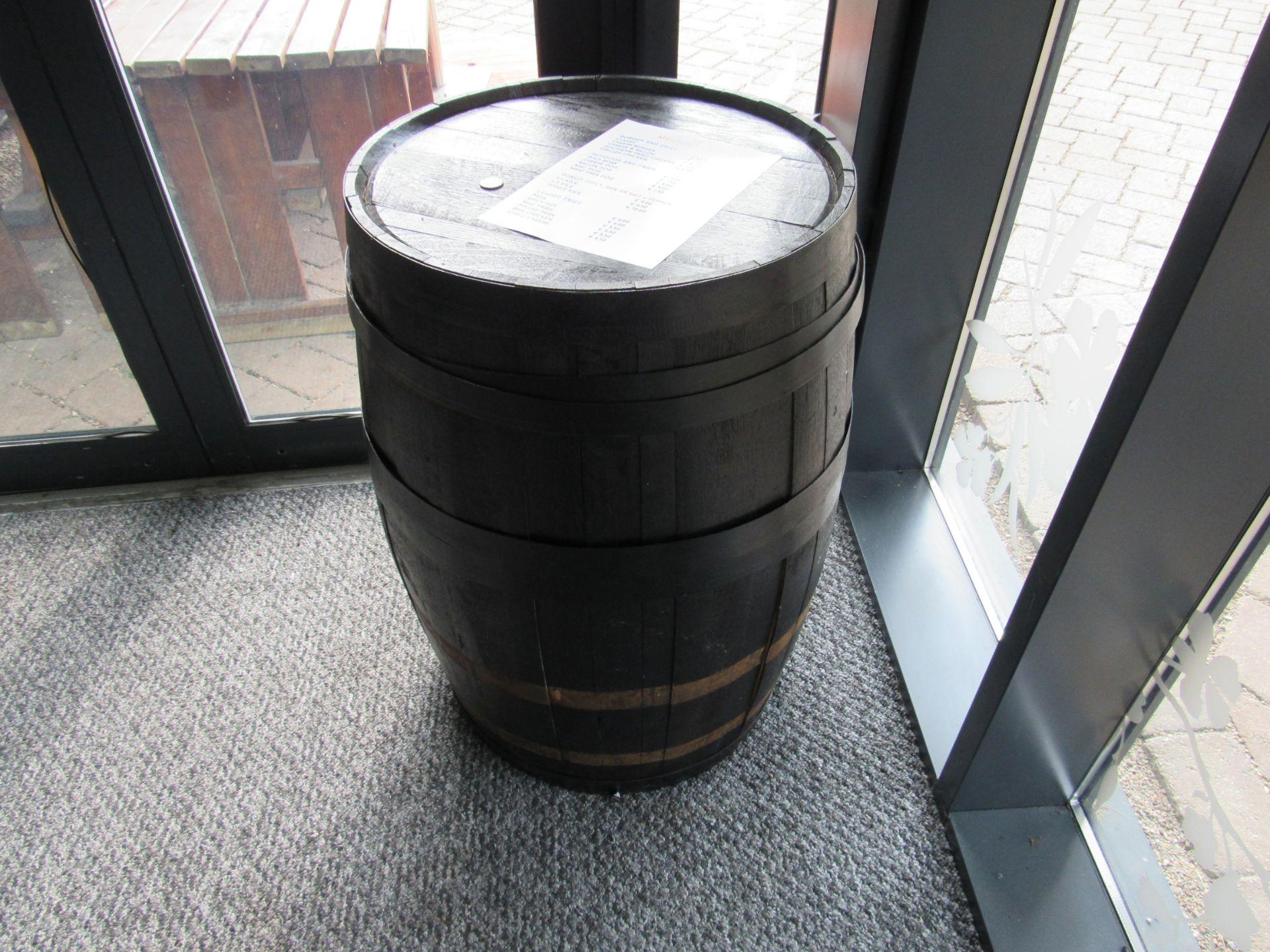 Distillery Barrel - Image 2 of 2