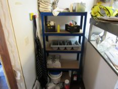 Boltless 5 Tier Shelf Unit and Contents