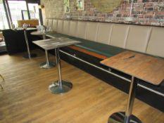 4 Bar Tables