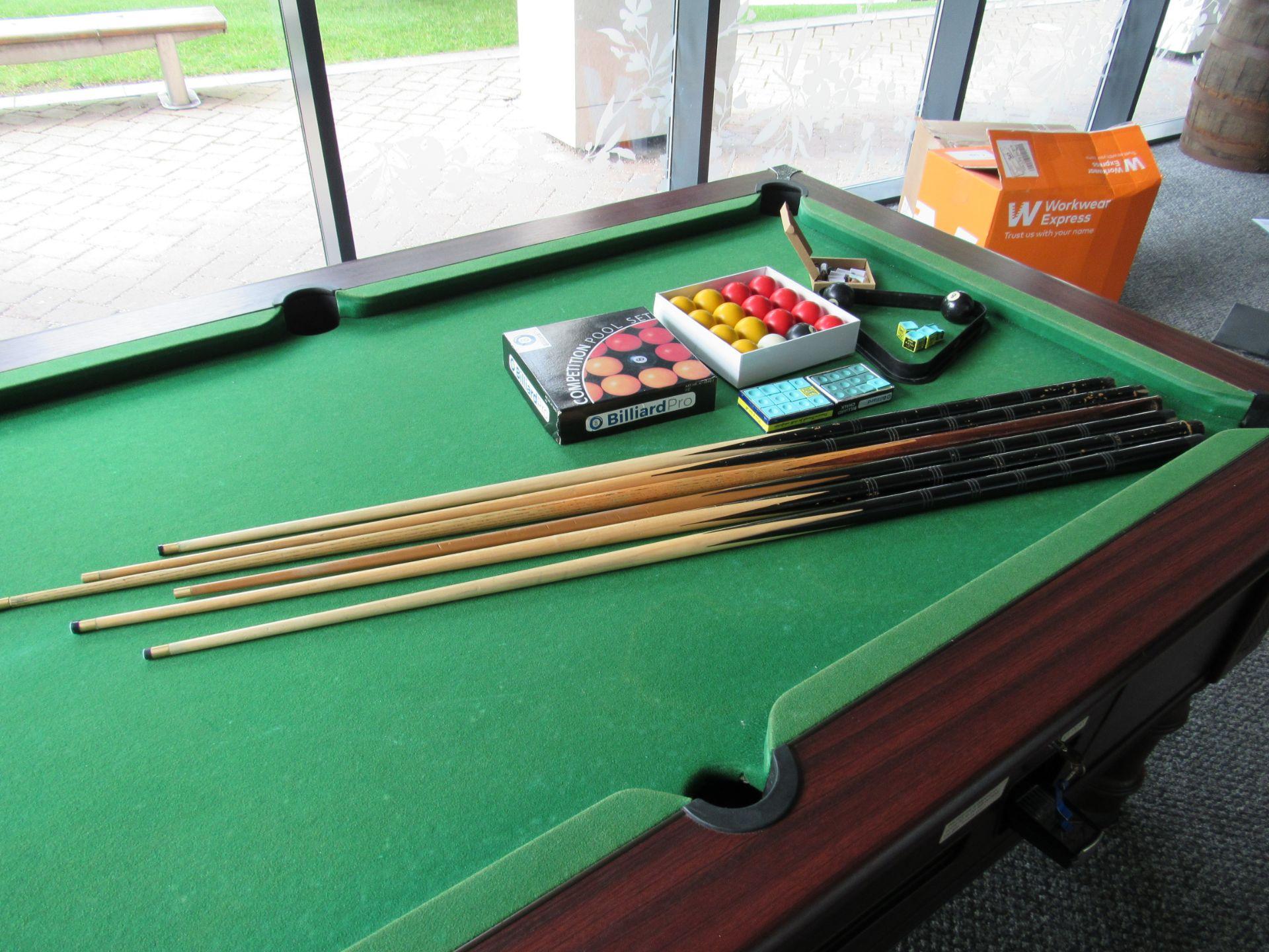 Supreme Pool, Pay to Play Billiard Table - Image 5 of 9