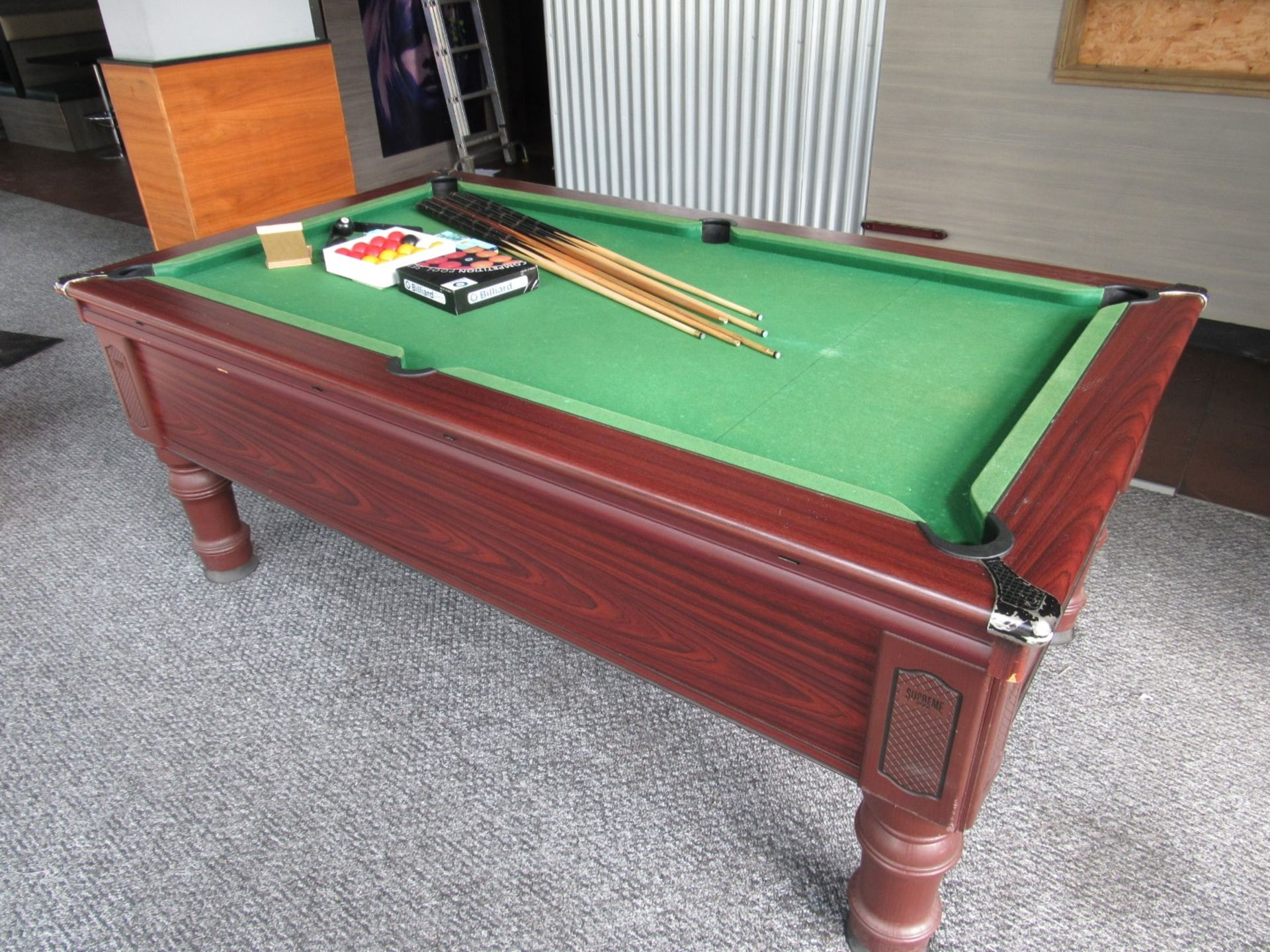 Supreme Pool, Pay to Play Billiard Table - Image 6 of 9