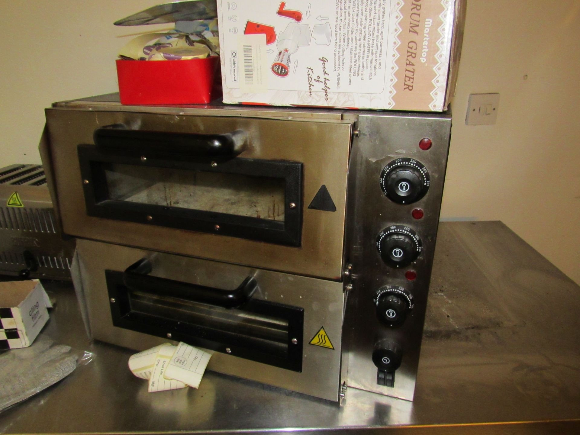 Electric Pizza Oven, P2PT 560x566x400mm
