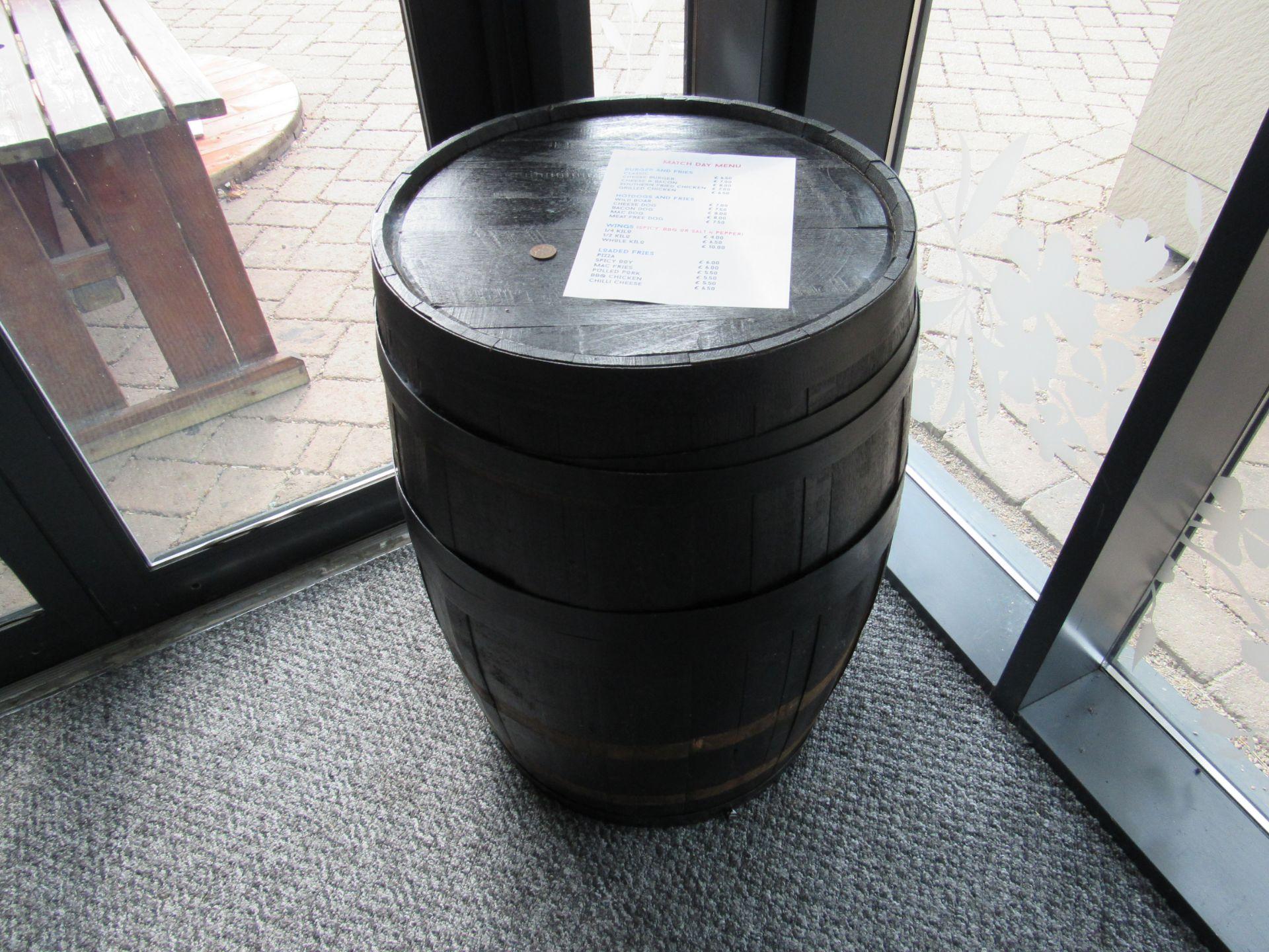 Distillery Barrel