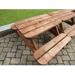 Timber Pub Bench (#23)