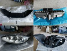 Large Lot of Ford Motor Parts