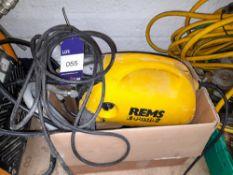 Rems E-Push 2 Pressure Testing Pump 110v