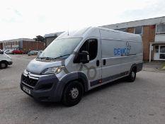 Citroen Relay 35 2.2 HDi H2 130ps Enterprise Van, registration LJ16 YHF, first registered 03/03/