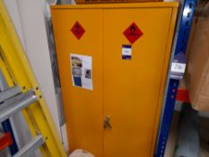 Chemical Cabinet & Contents