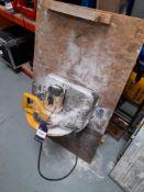 Dewalt Electric 110v Metal Cutting Chop Saw, serial number 004434