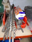 Quantity of various Drill Bits to Linbin