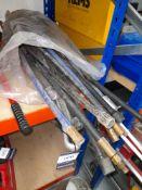 Super MKM10 Threaded Rod Cutter, Ridgid 836 Aluminium Pipe Wrench & Record 24 Pipe Wrench