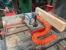 Sliding Table Tenoning attachment for Spindle moulder