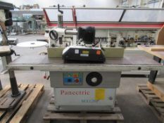 Panectric MX120p Spindle Moulder 3ph