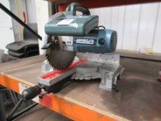 Erbauer 255mm Sliding Mitre Saw 230v