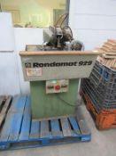 Rondamat 929 Tool Sharpening Machine