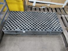 2x GRP walkway blocks