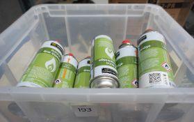 18 x Cans of Butane Gas Cartridges