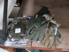 Qty of assorted size M/L gloves RP £180 (12 pairs)