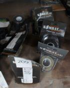 Assortment of gear