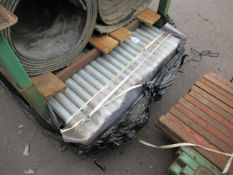 Qty of 42.5mm Galvanised Tubing 1.8m Length