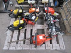 Eight Chainsaw Engines