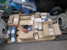 Qty of Various Screws, Bolts and Fastenings to pallet