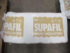 9 x Packs Knauf insulation Supafil Frame Insulation