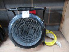 Rhino FH3 110V heater