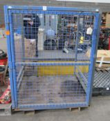 EMS Cargo cage with forklift sleeves