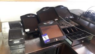 Till System, comprising; 4 Bleep TS700 touchscreen terminals (without software), 2 thermal receipt