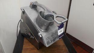 Skymsen PA2E Stainless Steel Countertop Food Processor/Juicer, serial number 000106