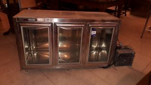 Modulsystem model ECOMSS3C triple door ventilated Counter Refrigerator (without shelves) 2011,