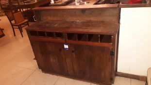 Solid wood Waiter Station, 1450 x 450 x 1200mm