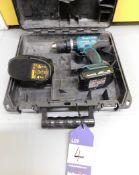Makita BHP453 Drill with 18v Makita Battery and De