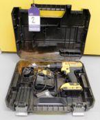 DeWalt XRLI-ION DCD776 Drill with DeWalt 18v Batte
