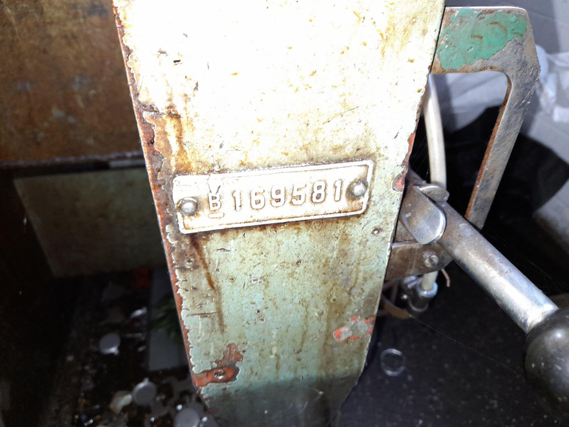 Norton Hydraulic Down Stroking Press, S/n B169581 - Image 4 of 5