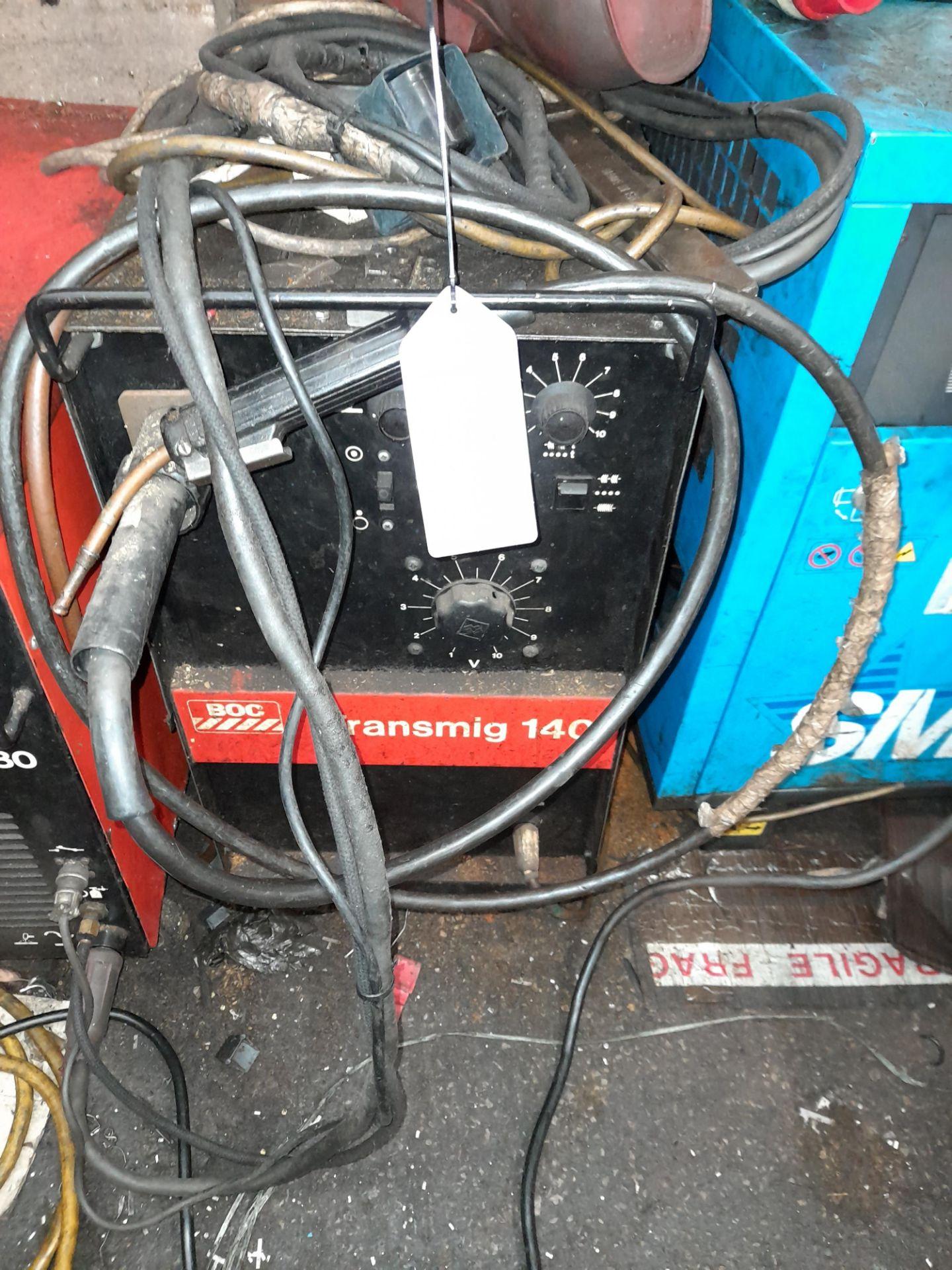 Transmig 140 Mig Welding Set
