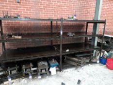 Steel Fabricated 4 Tier Shelving