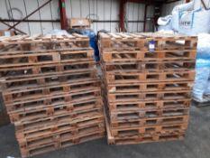 22 x Heat Treated Pallets, Unused
