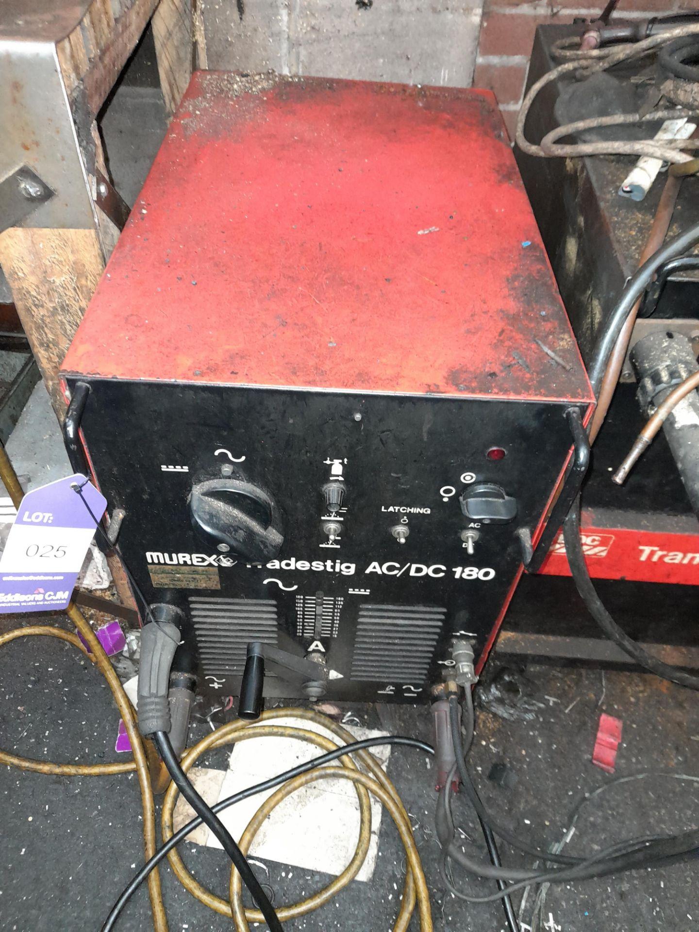 Murex AC/DC 180 Welding Set
