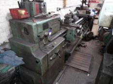 TOS SN-45B Long Bed Lathe with 3 & 4 Jaw Chuck, Steady and small selection of tooling