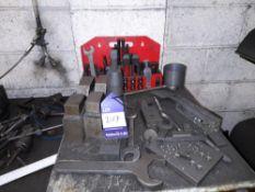 Clamp Set with Various Steel Work Blocks